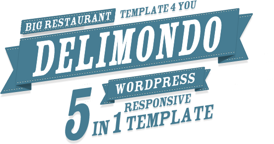 Delimondo Wordpress Template